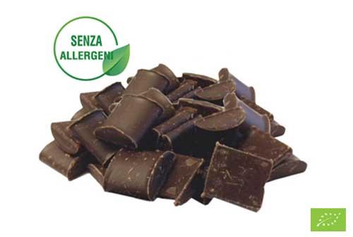 Cioccolato bio senza allergeni e senza lattosio