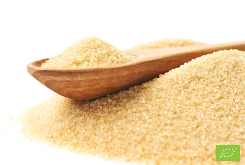 Distribuzione zucchero di canna grezzo biologico
